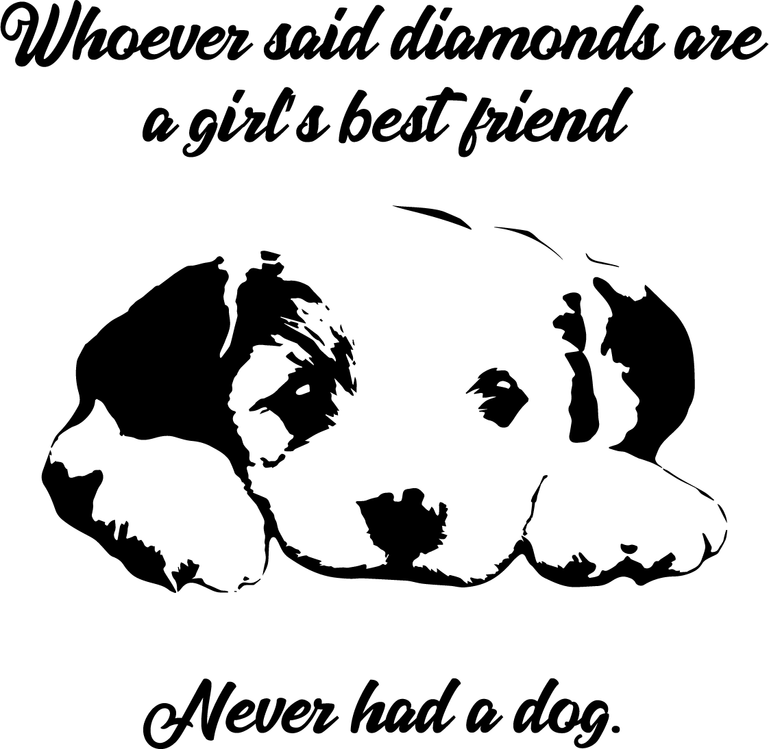Download Girl's Best Friend, Puppy Free SVG | Free SVG Files & More